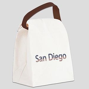 San Diego Canvas Lunch Bag