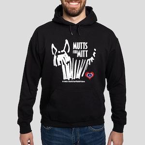 Yorkie Mutts for Mitt Hoodie (dark)