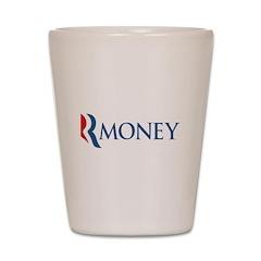 Anti-Romney RMONEY Shot Glass