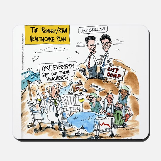 Mitt Romney - Paul Ryan Health Care Plan Mousepad