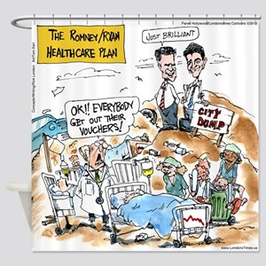 Mitt Romney - Paul Ryan Health Care Plan Shower Cu