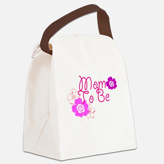 Mom To Be Canvas Lunch Bag