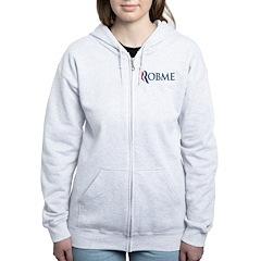 Anti-Romney Robme Women's Zip Hoodie