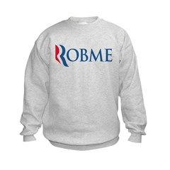 Anti-Romney Robme Kids Sweatshirt