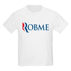 Anti-Romney Robme Kids Light T-Shirt