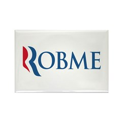 Anti-Romney Robme Rectangle Magnet