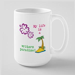 Bloggers Paradise Large Mug