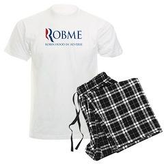 Anti-Romney Rob Me Robin Hood Men's Light Pajamas