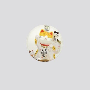 Lucky Cats Mini Button