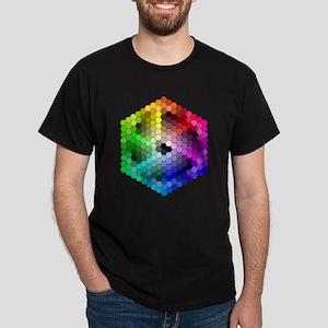 Colorful Design Dark T-Shirt