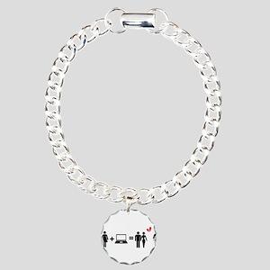Cheater Charm Bracelet, One Charm