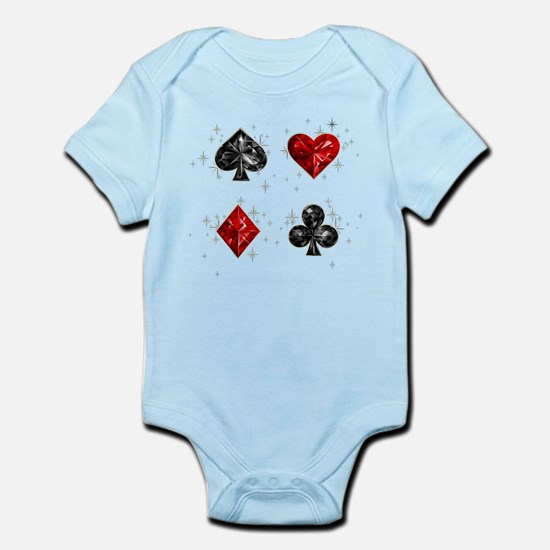 Poker Infant Bodysuit