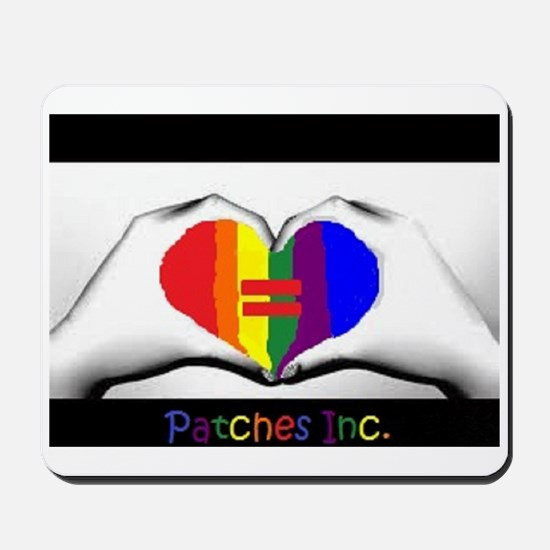 Same Sex Marriage Supporter Logo Mousepad