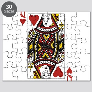 Queen of Hearts Puzzle