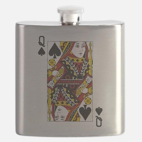Queen of Spades Flask