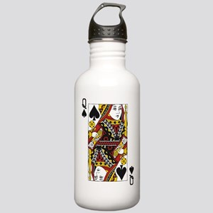 Queen of Spades Stainless Water Bottle 1.0L