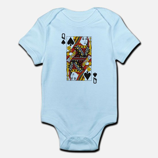 Queen of Spades Infant Bodysuit