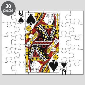 Queen of Spades Puzzle