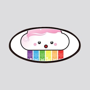 Kawaii Rainbow Cloud Patches