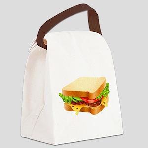 Sandwich Canvas Lunch Bag