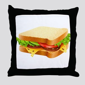 Sandwich Throw Pillow