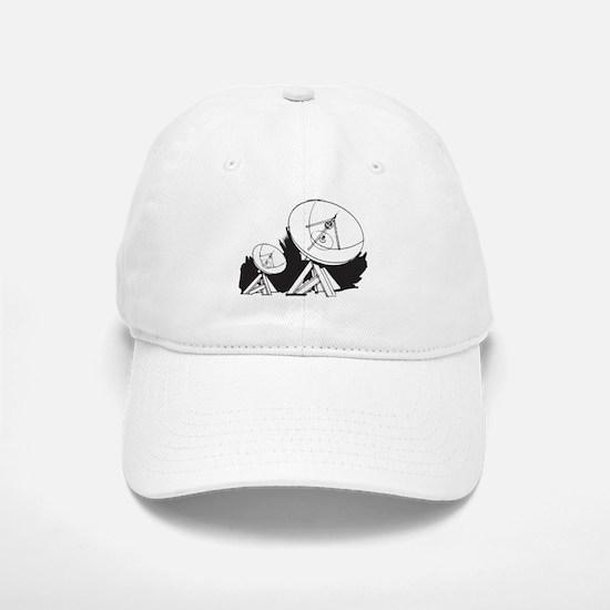 Satellites Baseball Baseball Cap