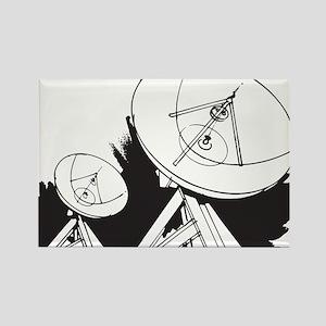 Satellites Rectangle Magnet