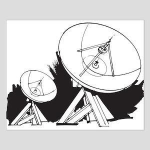 Satellites Small Poster