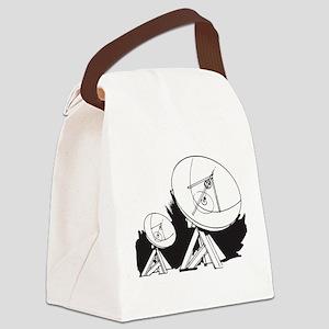 Satellites Canvas Lunch Bag