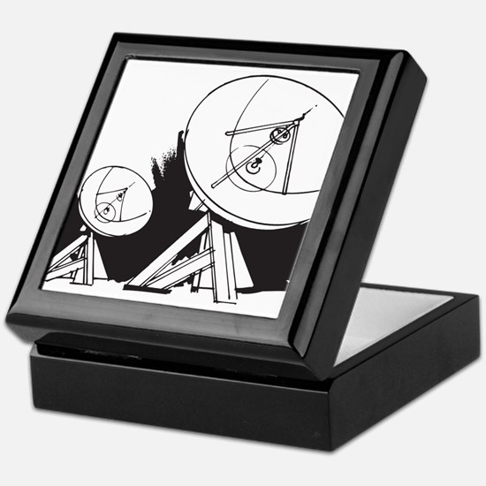 Satellites Keepsake Box