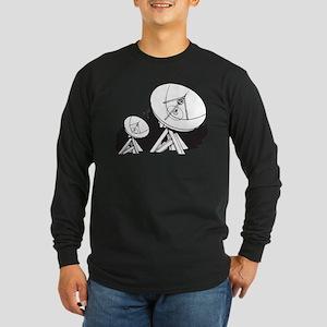 Satellites Long Sleeve Dark T-Shirt