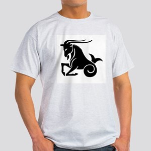 Capricorn - Goat/Fish Ash Grey T-Shirt