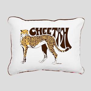 Cheetah Rectangular Canvas Pillow