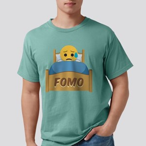 Emoji Sad FOMO Mens Comfort Colors Shirt