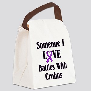 Crohns Canvas Lunch Bag