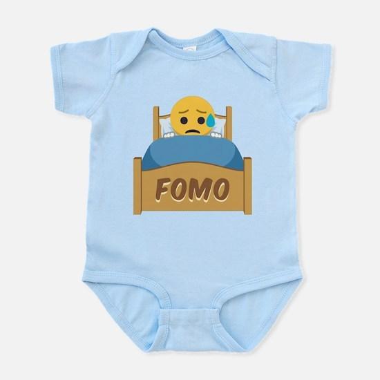 Emoji Sad FOMO Infant Bodysuit