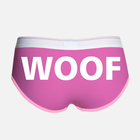 Woof, Sup, Grr, Looking Women's Boy Brief