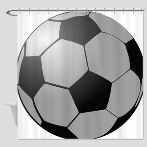 Soccer Ball Shower Curtain