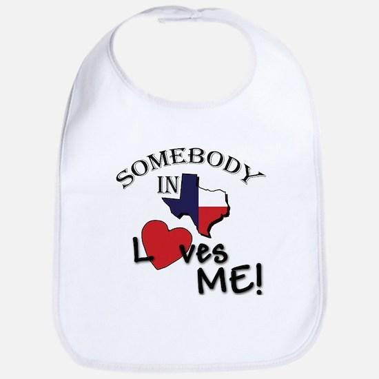 somebody loves.psd Baby Bib