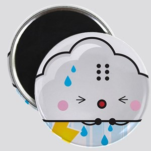 Kawaii Rain Cloud Magnet