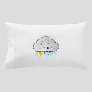 Kawaii Rain Cloud Pillow Case