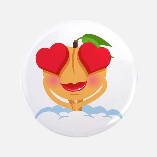 Emoji Heart Eyes Button