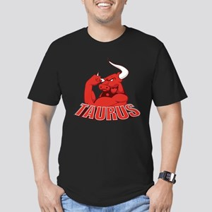 Taurus Men's Fitted T-Shirt (dark)
