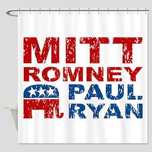 Romney Ryan Election 2012 Shower Curtain