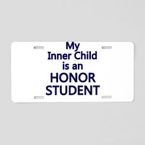 inner child honor Aluminum License Plate