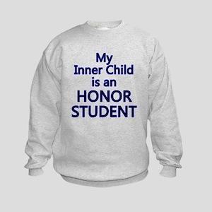 inner child honor Kids Sweatshirt