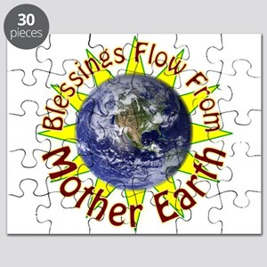 Blessings Flow From Mother Nature Puzzle