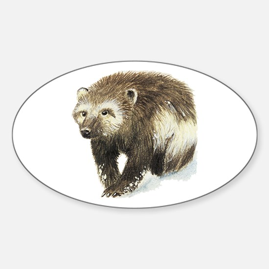 Wolverine Sticker (oval)