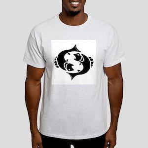 Pisces - The Fish Ash Grey T-Shirt