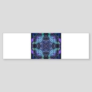 Flower of Life Mandala Sticker (Bumper)